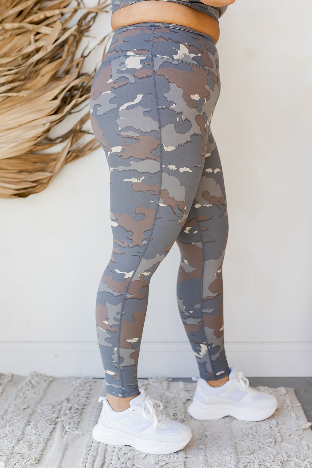blue tundra camo highways leggings (extended)