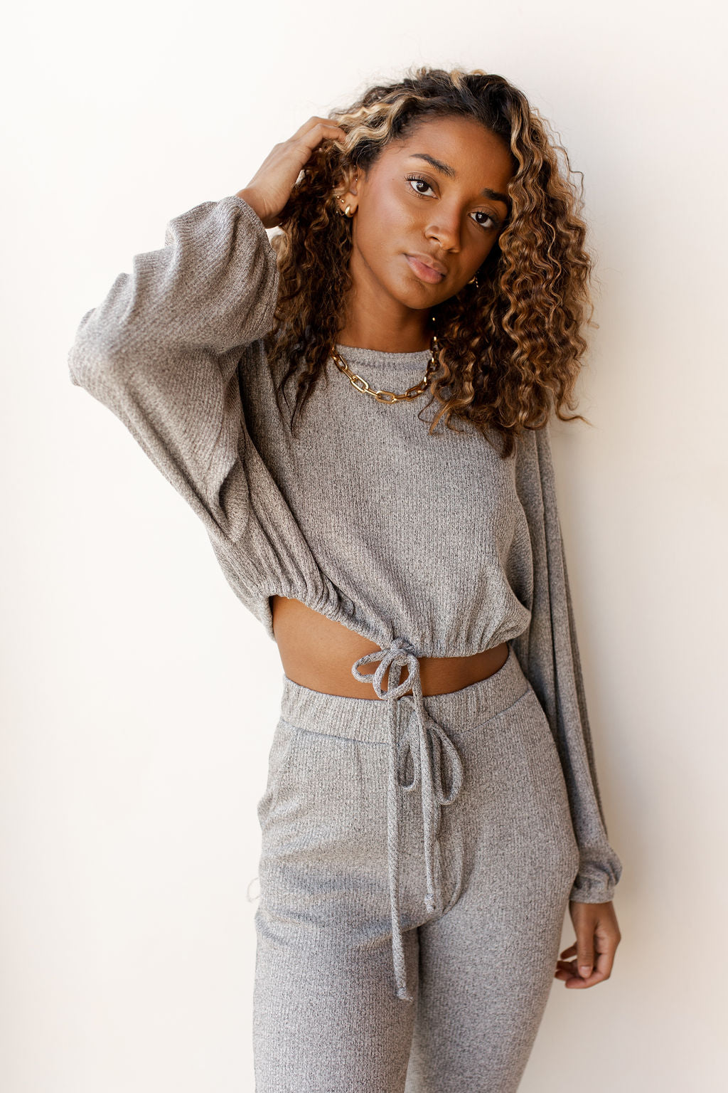 static knit crop