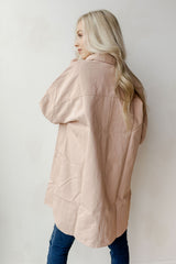 Stacy oversized button down