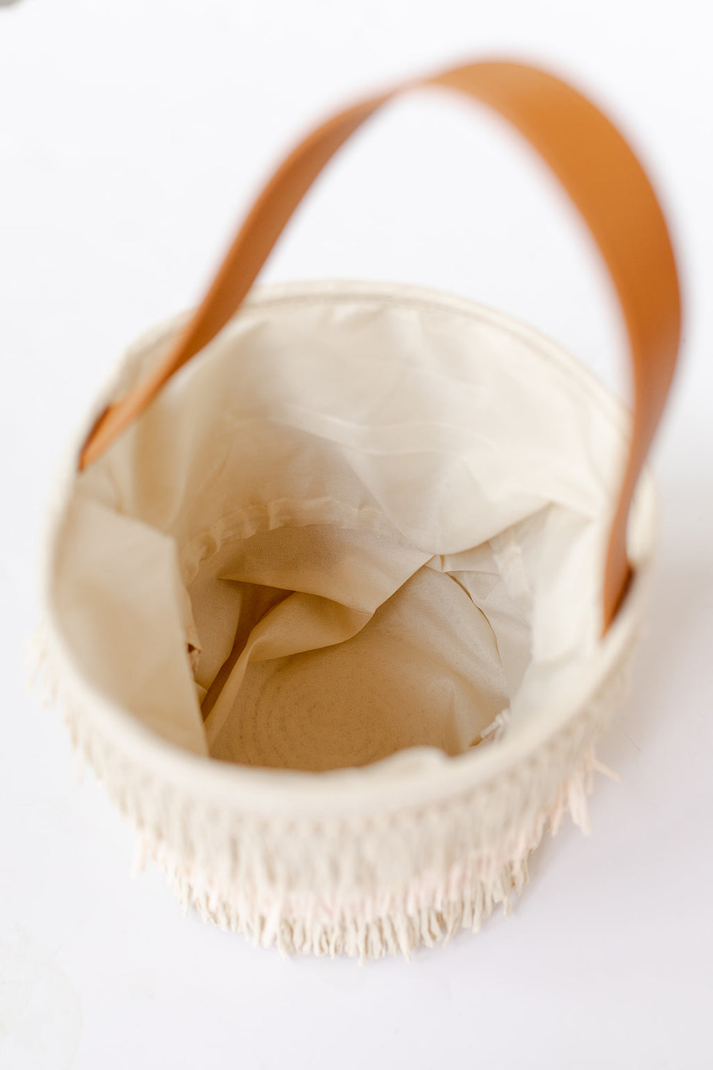 flavia bucket bag, blush