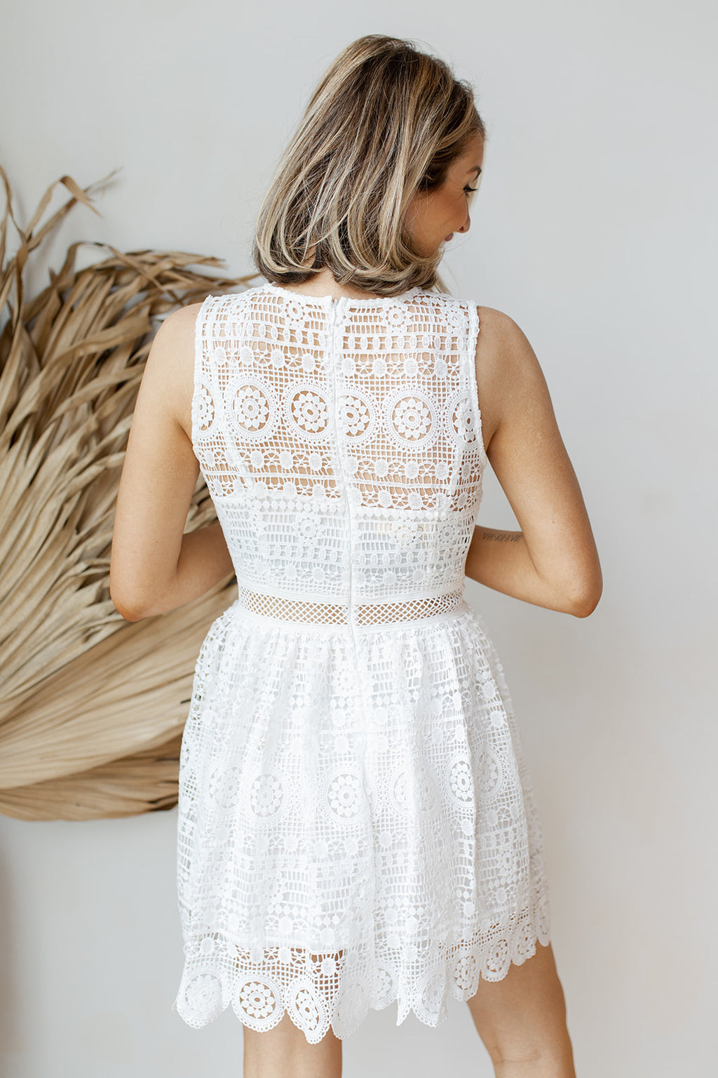 star of the show lace dress