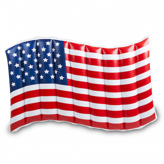 mode, Giant American Flag pool float