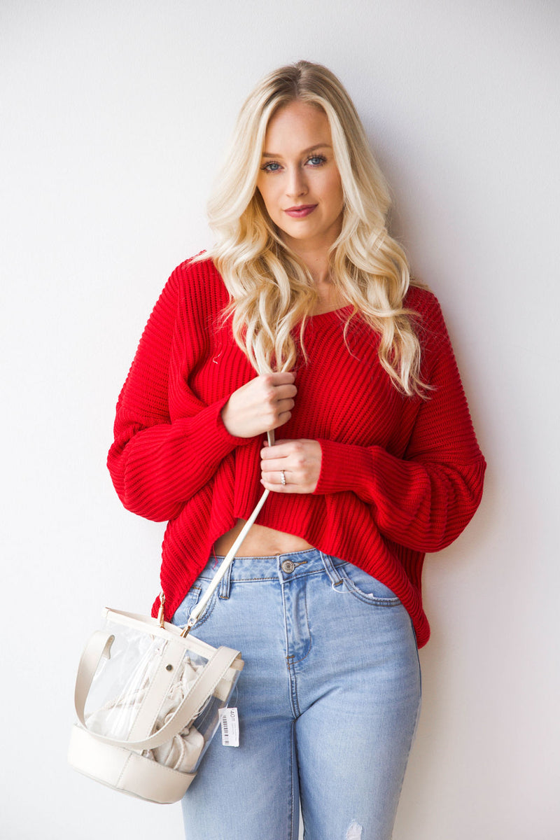 mode, Lydia cropped sweater