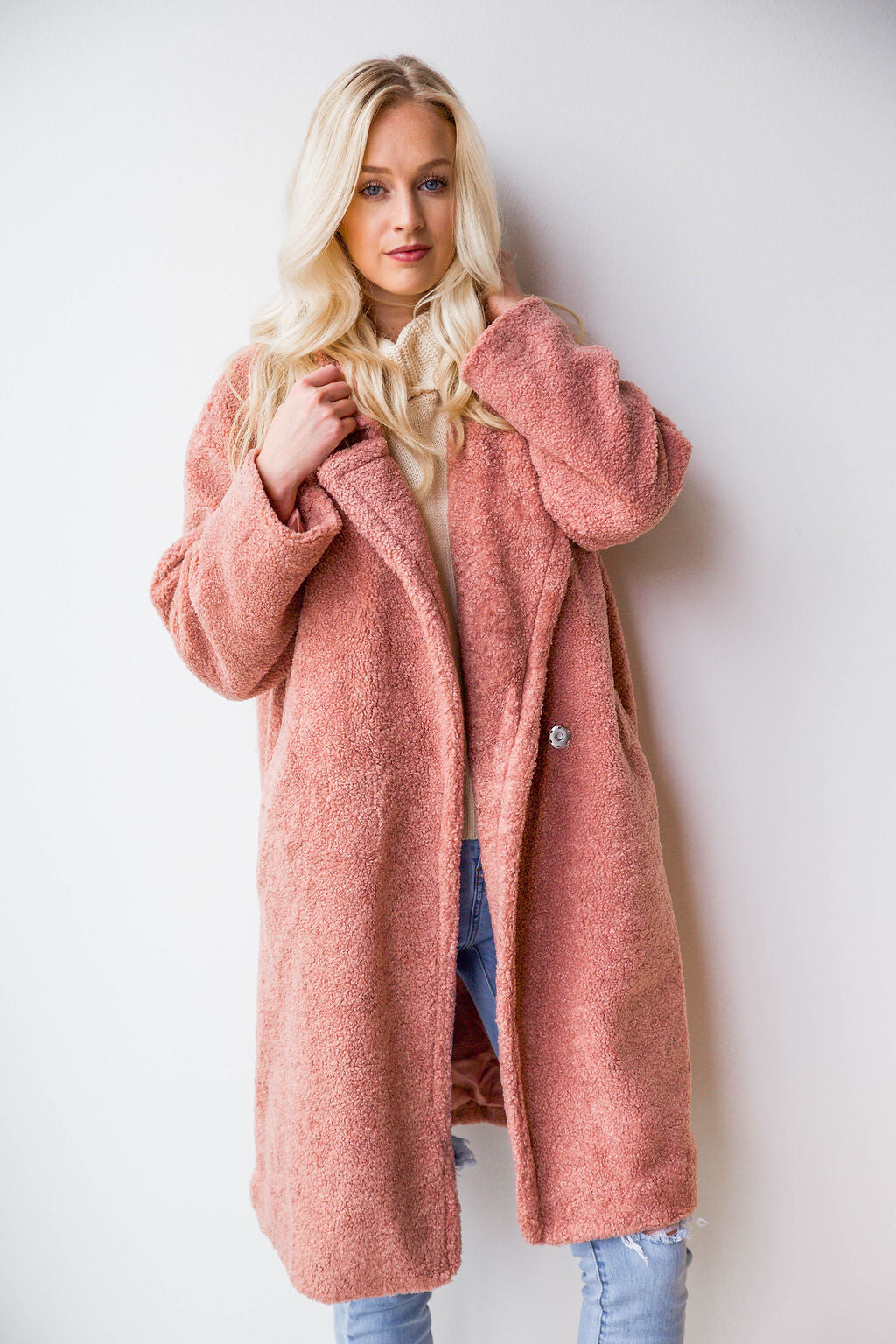 mode, teddy bear coat