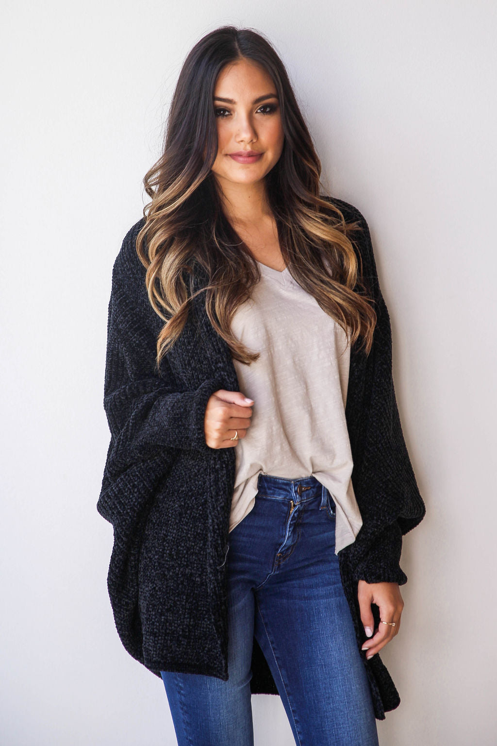 mode, cuddle up slouch cardi