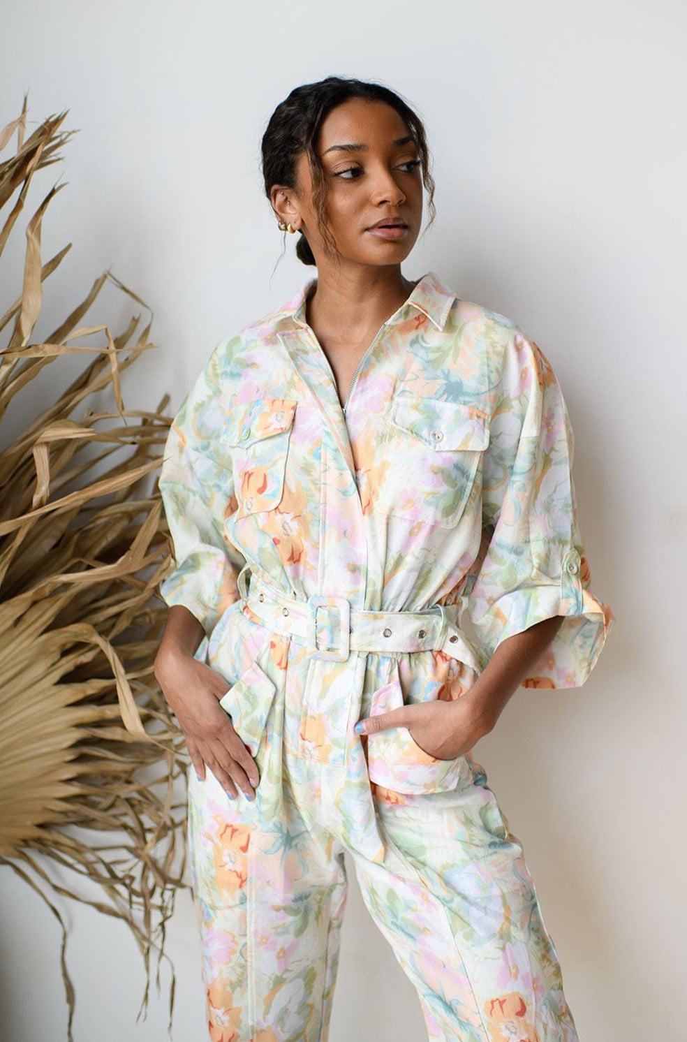 hawaiian vaca jumpsuit
