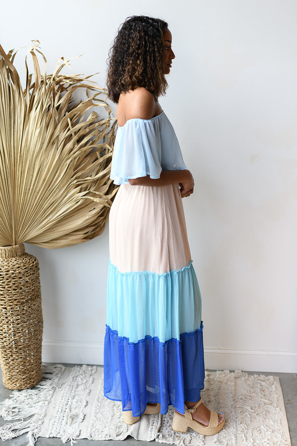 dancing on clouds maxi dress