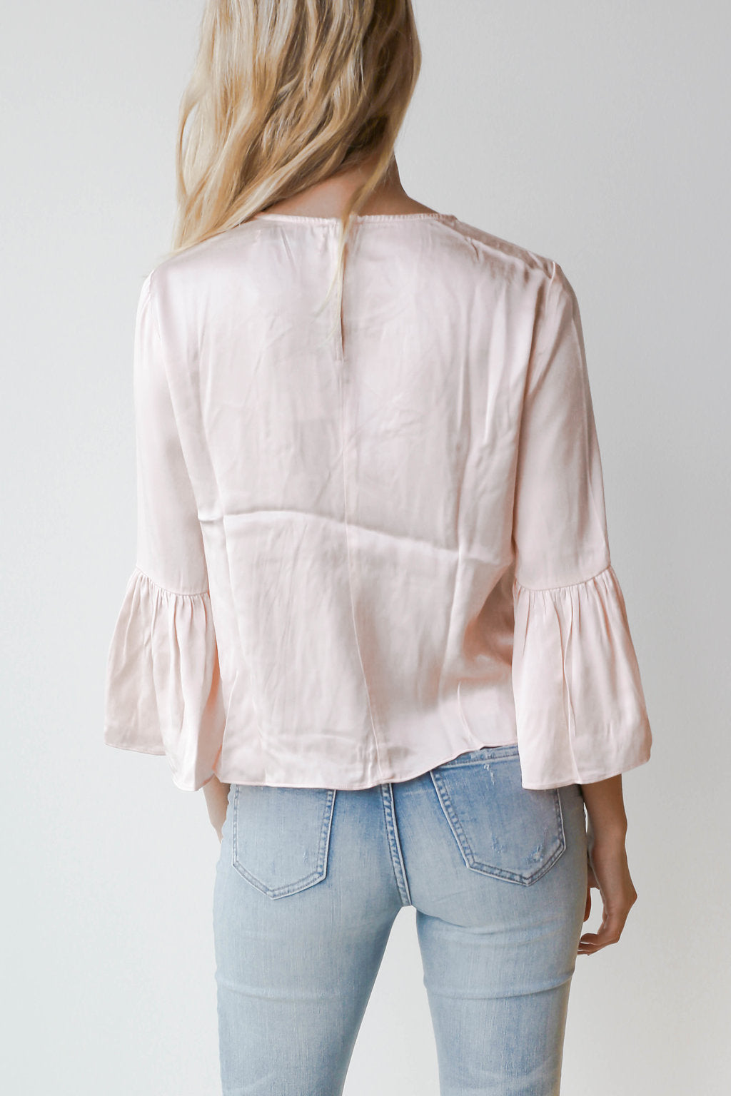 satin bells top