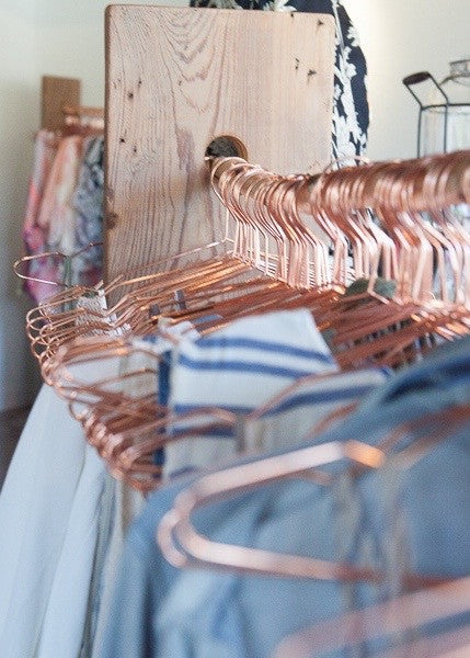 mode rosegold hangers (pack of 5)