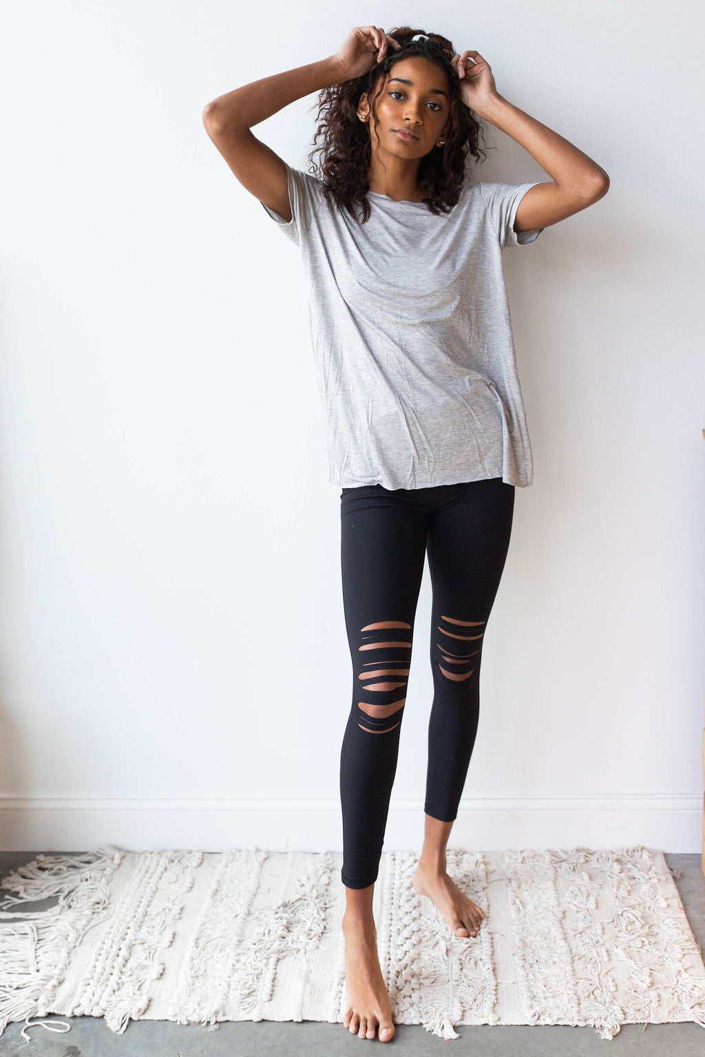 mode, Lo shredded leggings