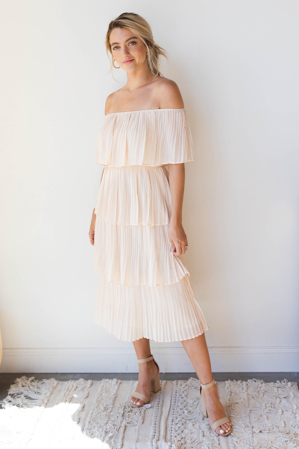 mode, dancing the night away tiered dress