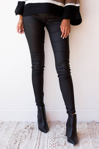 [shop name], kesha coated skinnies