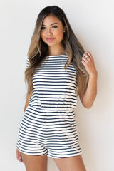 mode, on an adventure striped romper