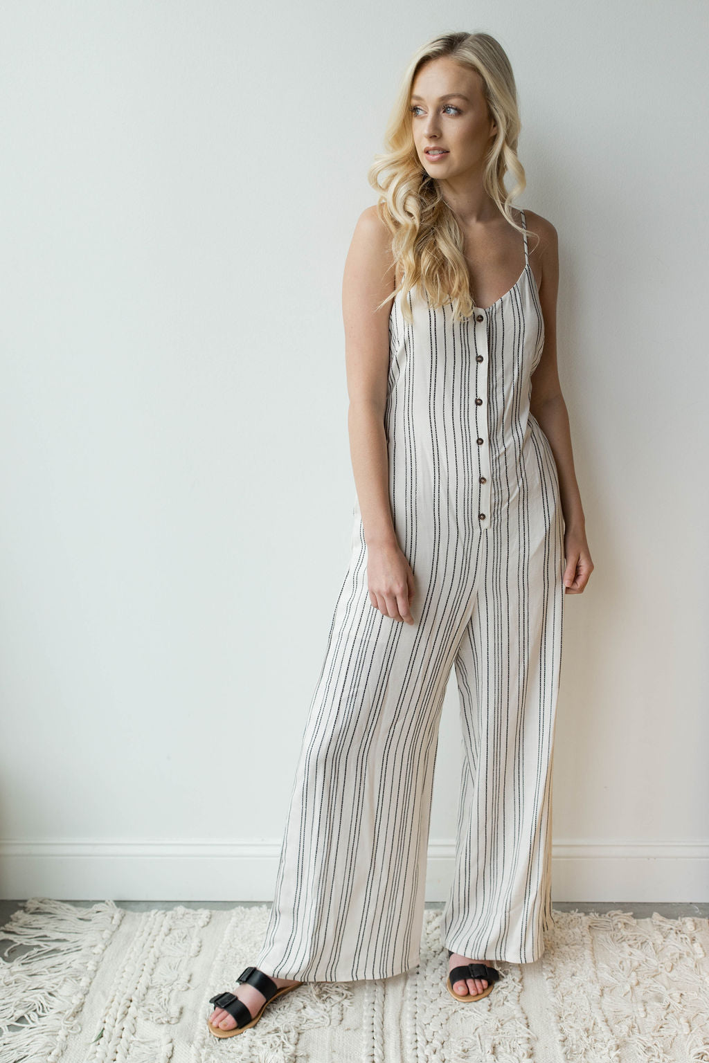 mode, feeling fresh wide leg jumpsuit