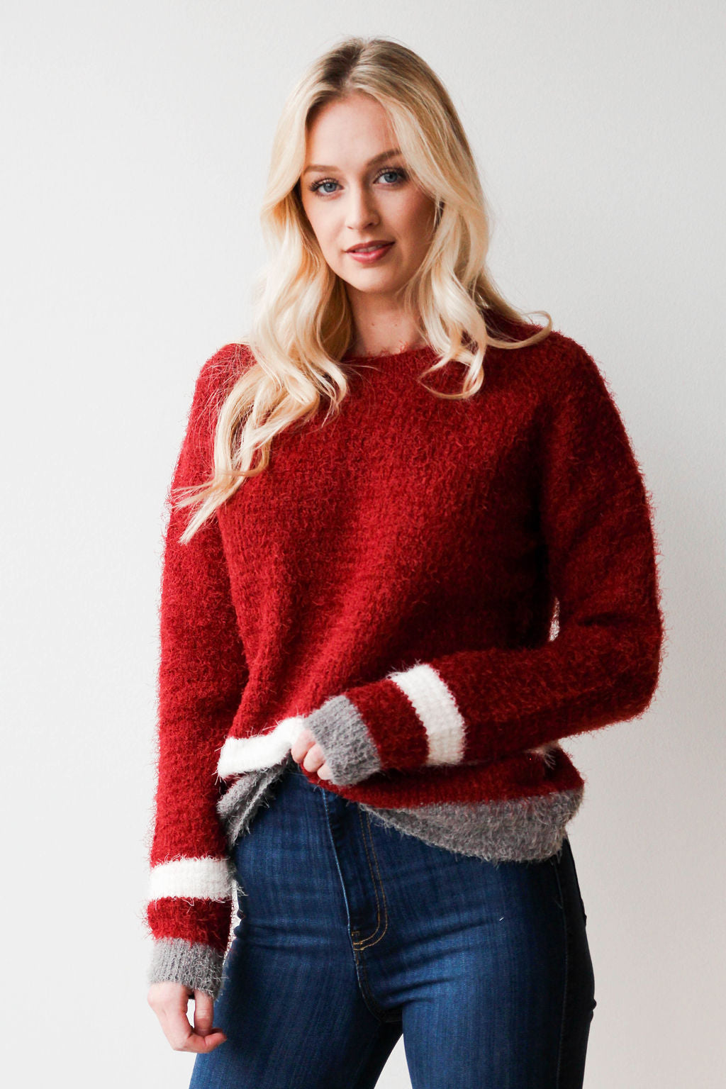 cinnamon and sugar sweater