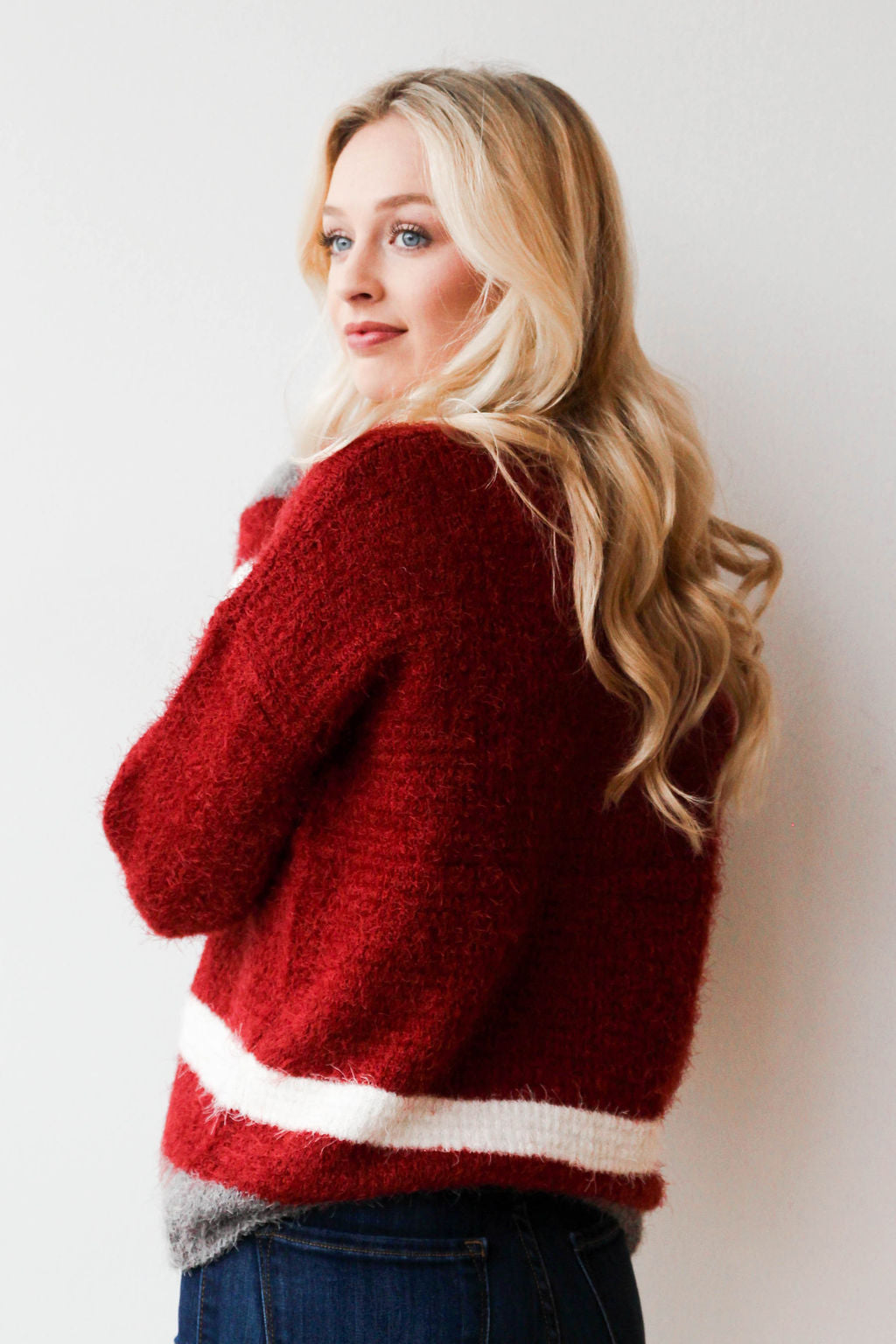 mode, cinnamon and sugar sweater