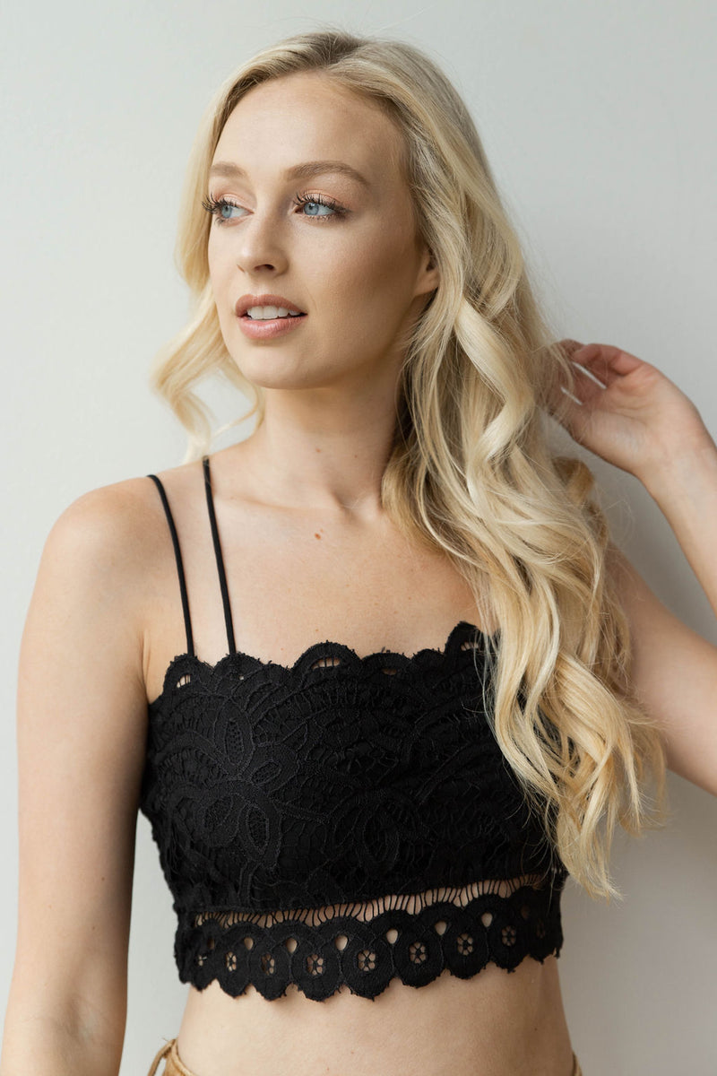 mode, pick it up bralette top
