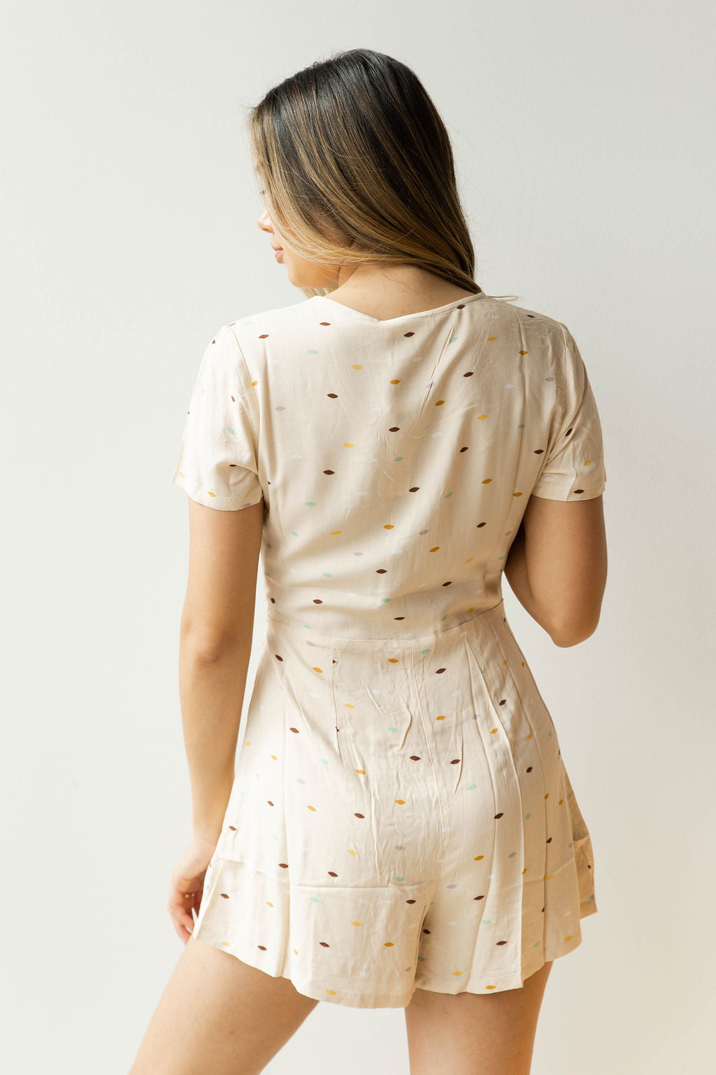 mode, celebration dotted romper