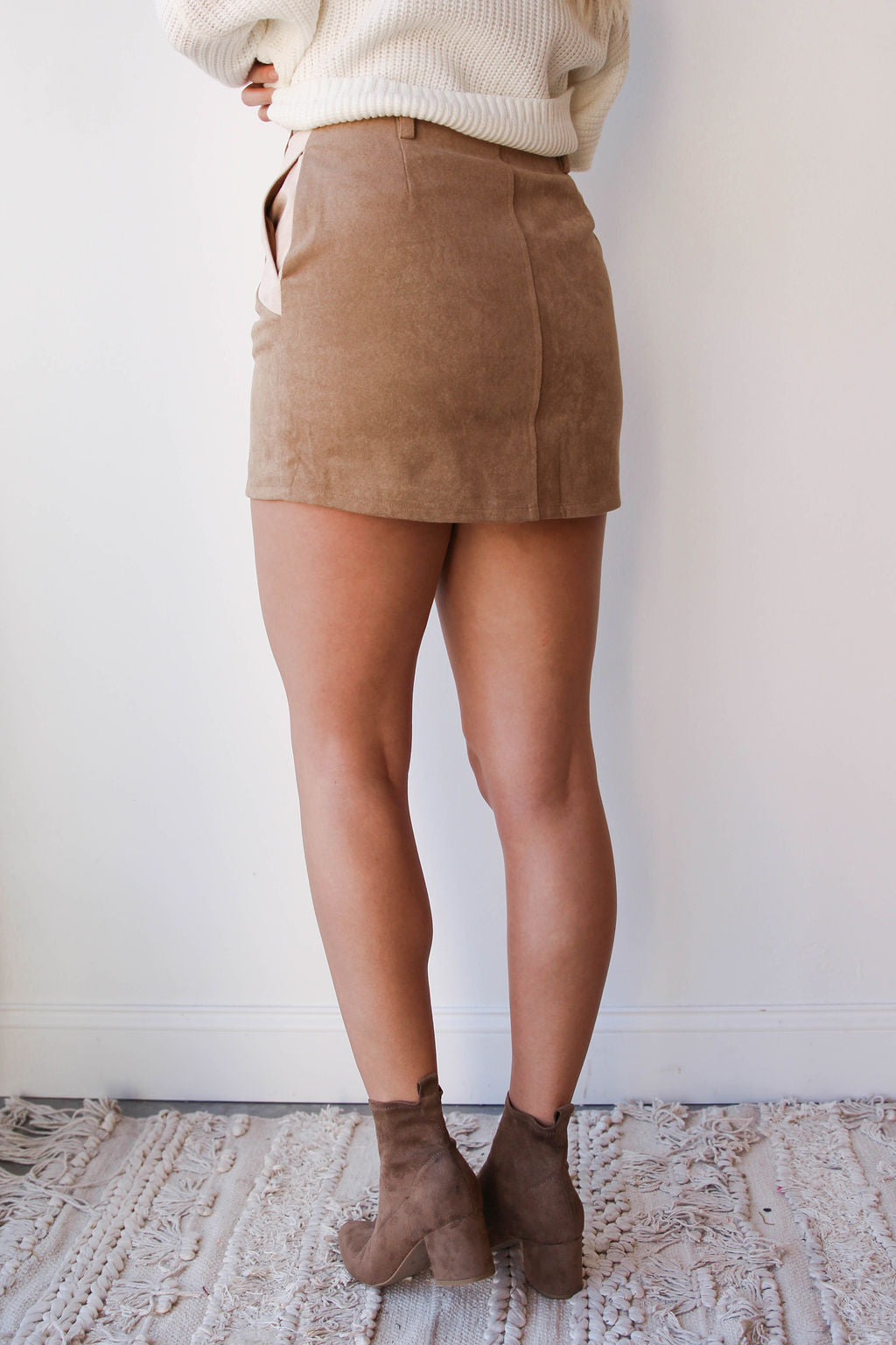 [shop name], hands in my pockets skirt