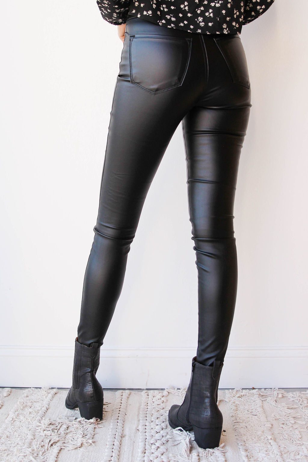 mode, Jacie faux leather pants