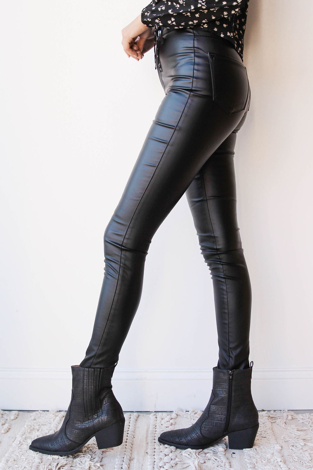 [shop name], Jacie faux leather pants