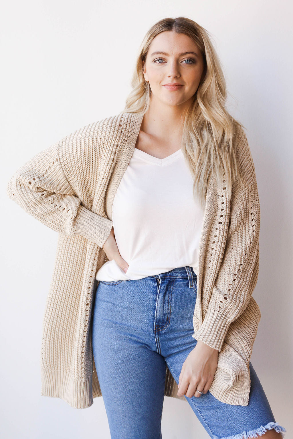 [shop name], carolling cardigan