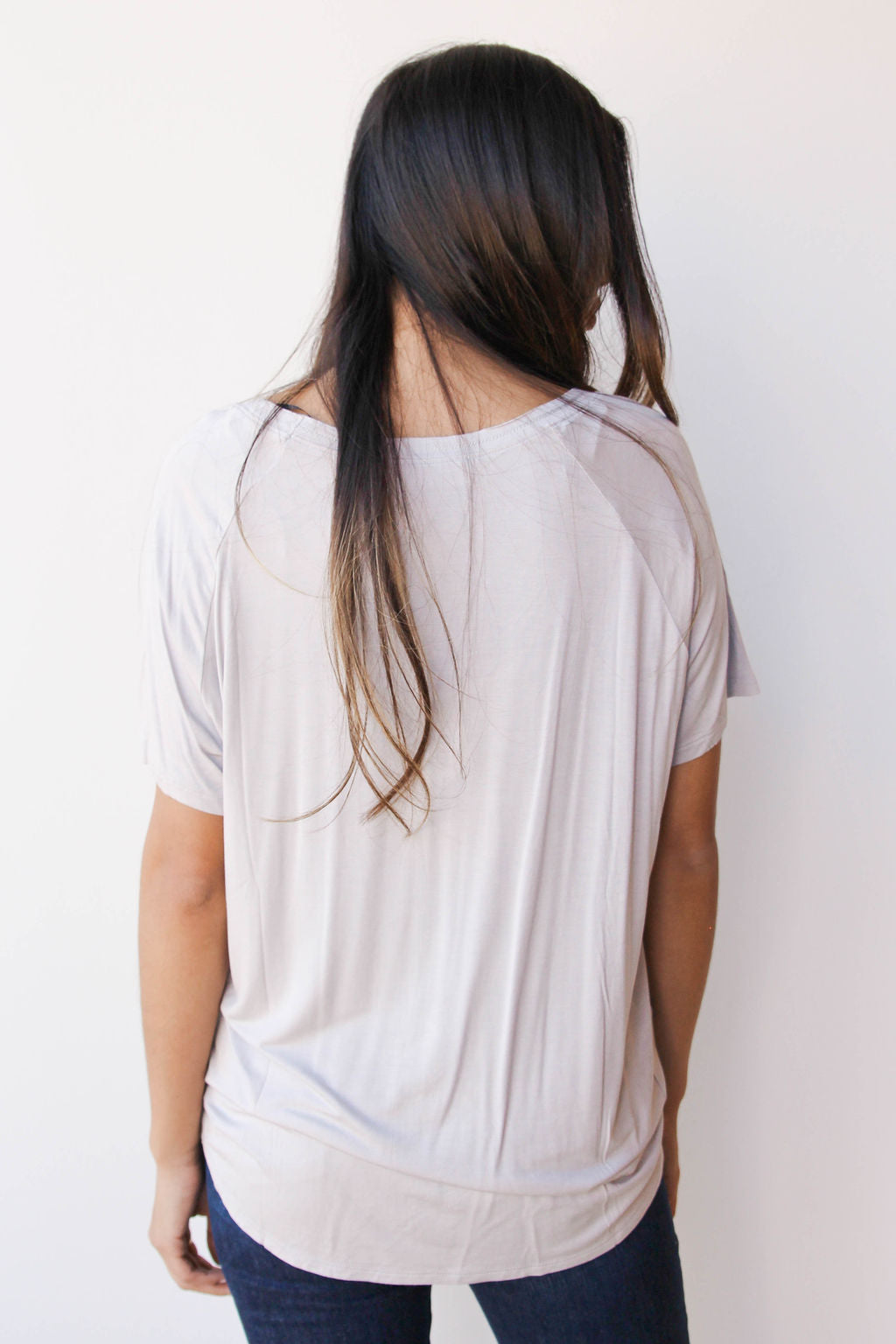 mode, day by day v neck tee