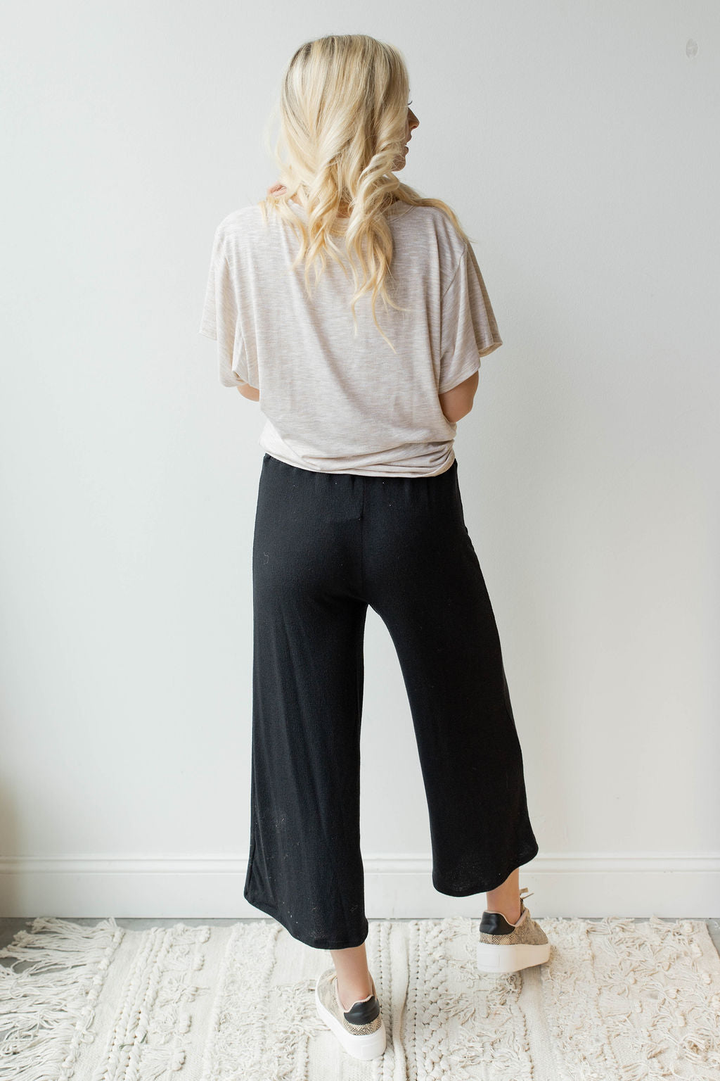 mode, drawstring smocked pants
