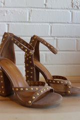 Mercer studded heel