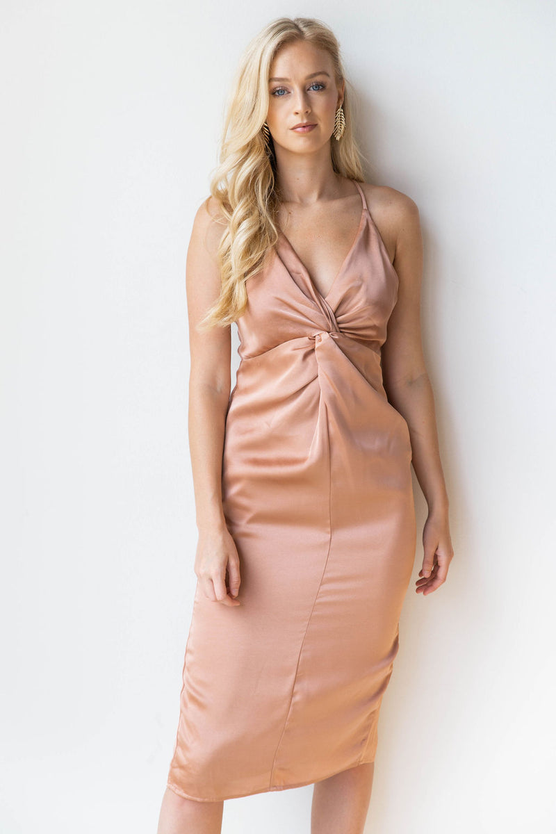 mode, smooth as silk midi dress