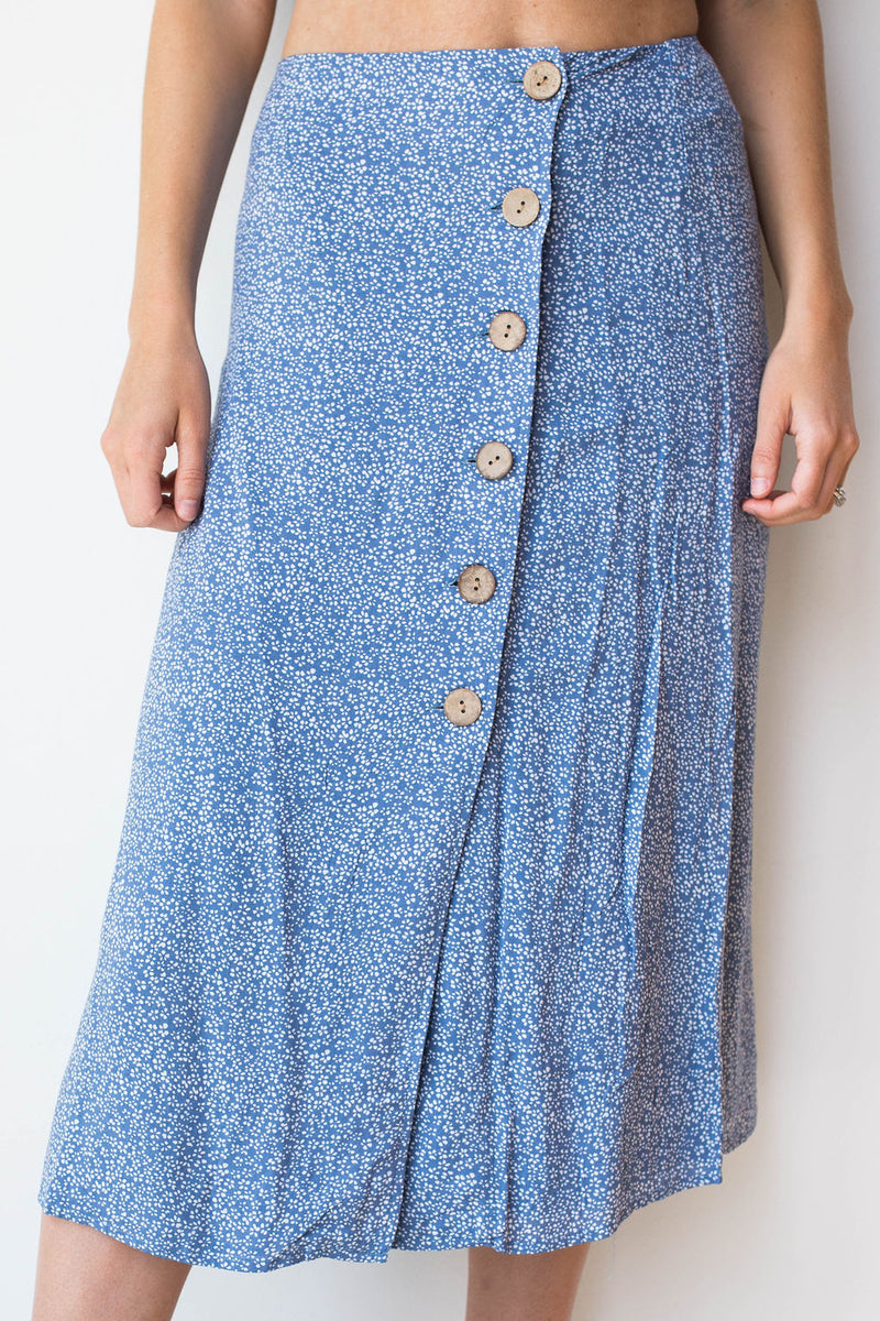 mode, walk in the park set (midi skirt)