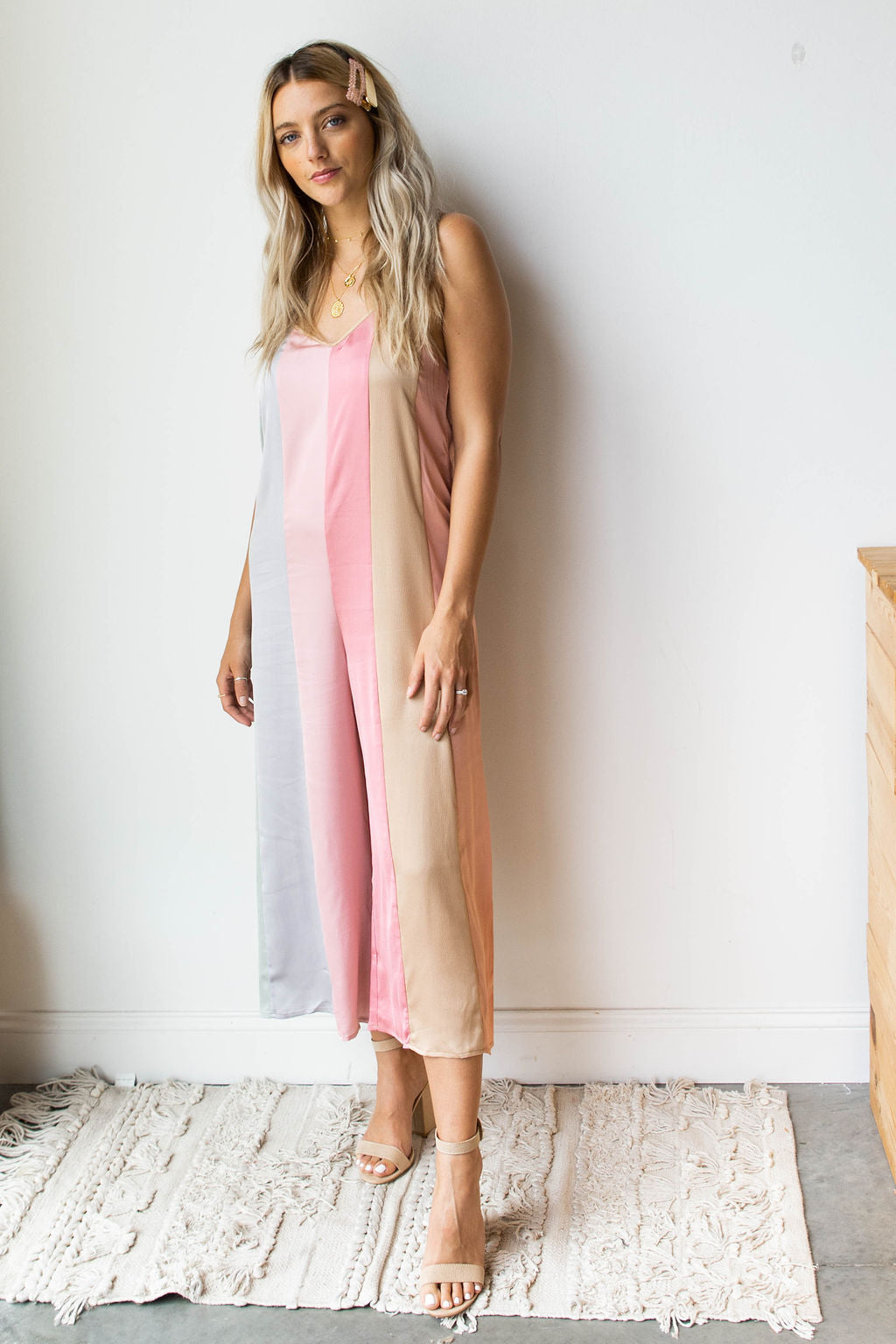 mode, out all night jumpsuit