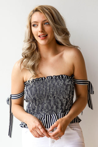 starburst stripe top (set)
