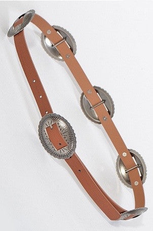 mode, whistle medallion belt