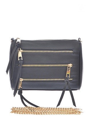 mode, Becky 5 zip crossbody