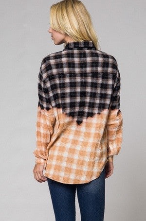 mode, Pita ombre plaid top