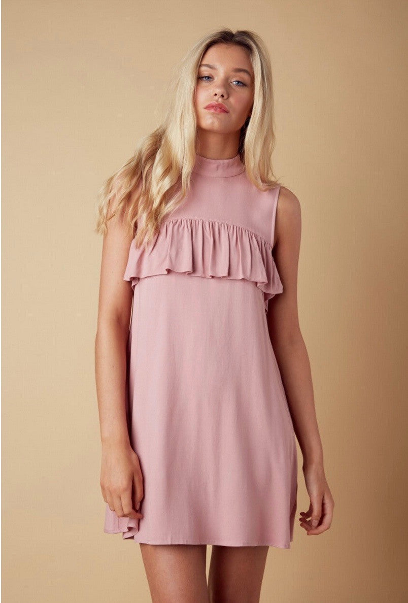 the perfect ruffle dress