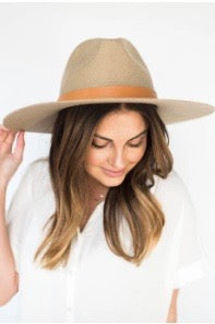 mode, Emma stiff brim hat