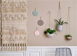 cotton rug or wall hang
