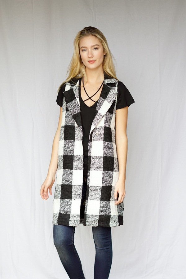mode, Sophie long vest