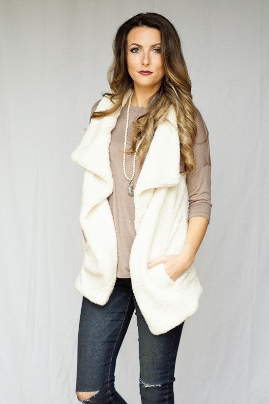 [shop name], wake me up in winter vest
