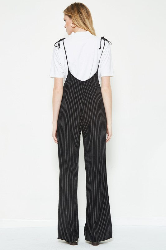 mode, Whitney pinstripe jumpsuit