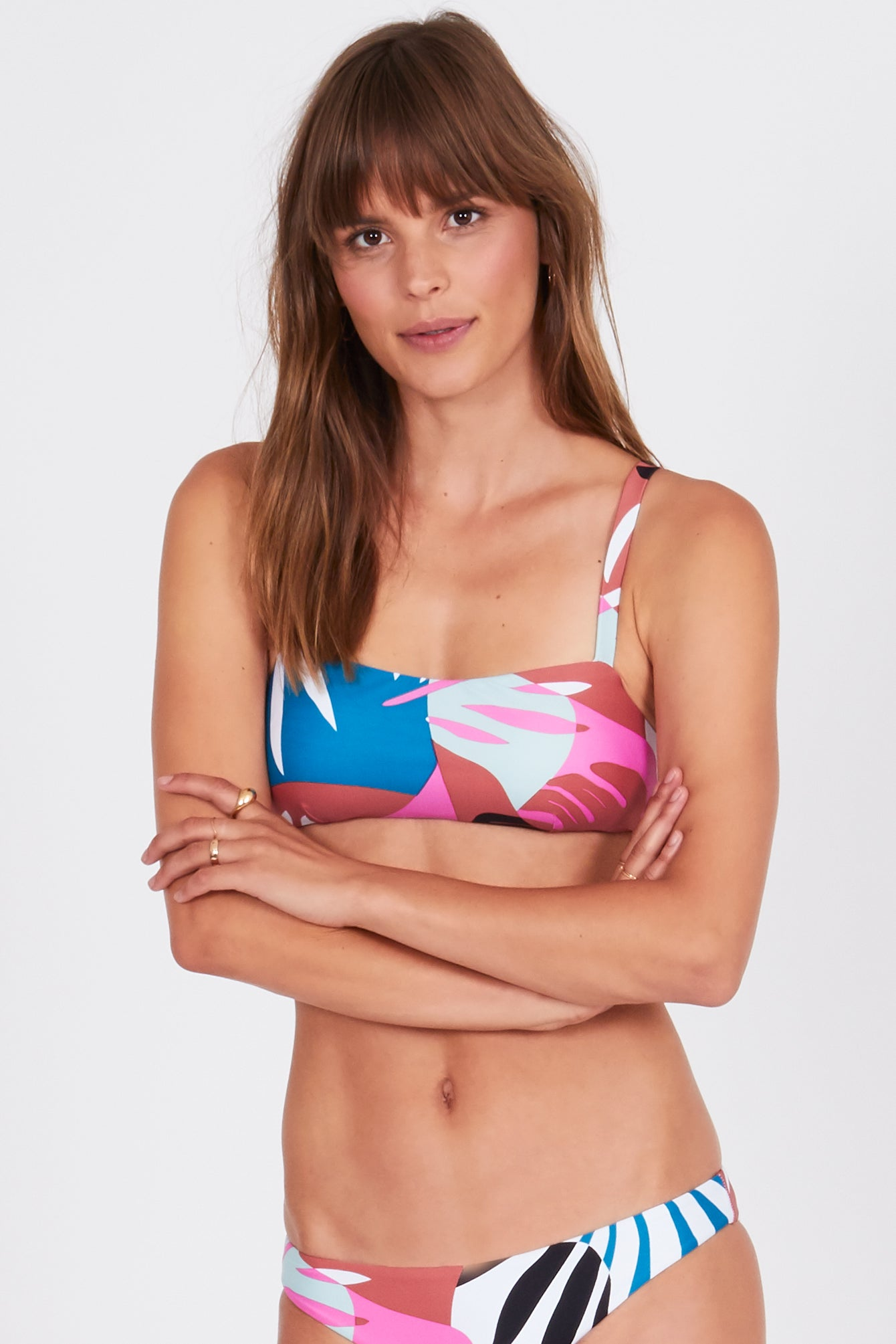 mode, emerson bralette swim top