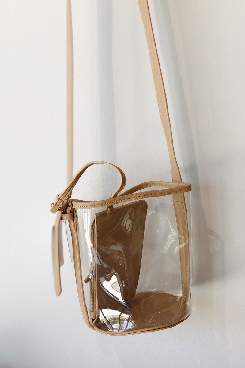 mode, clearly bucket bag