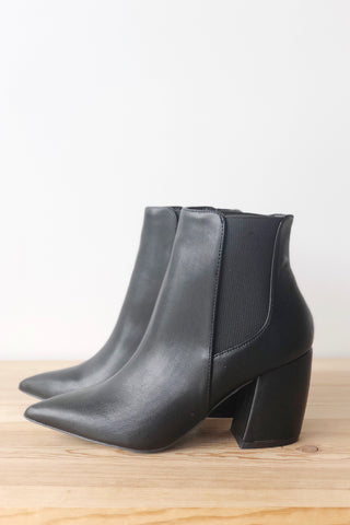 Joyful pointed toe bootie