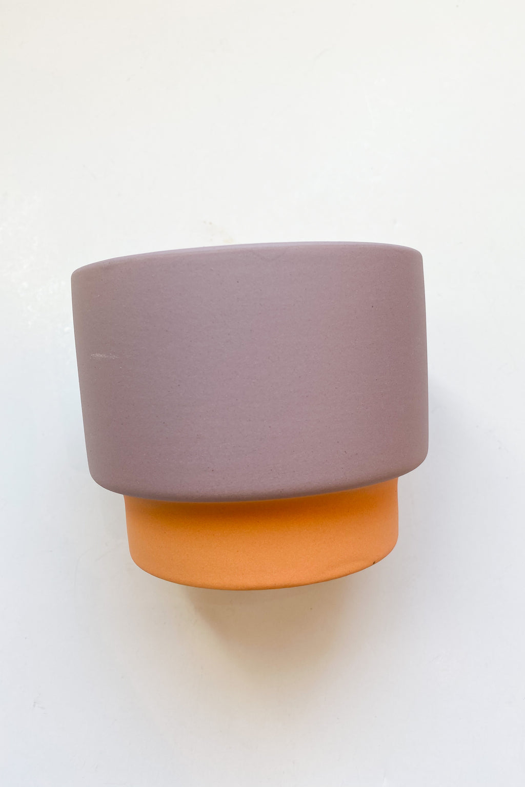 color block 16 oz candle