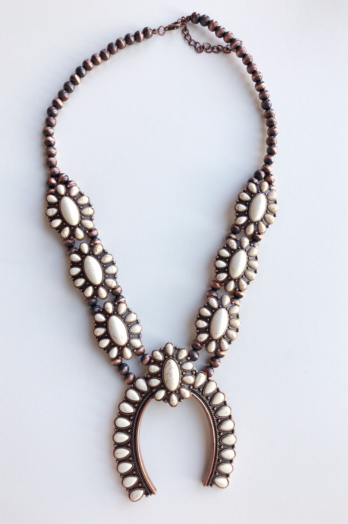 mode, boho blossom necklace