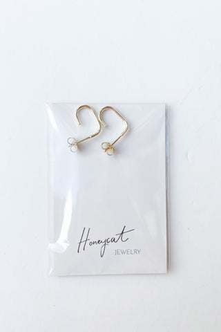 threader drop bar earrings