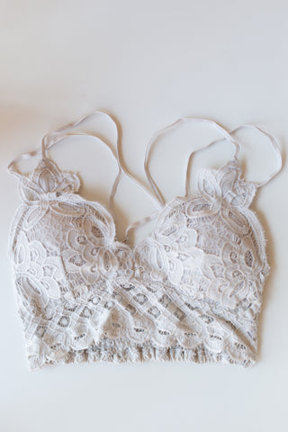 mode, good life lace bralette