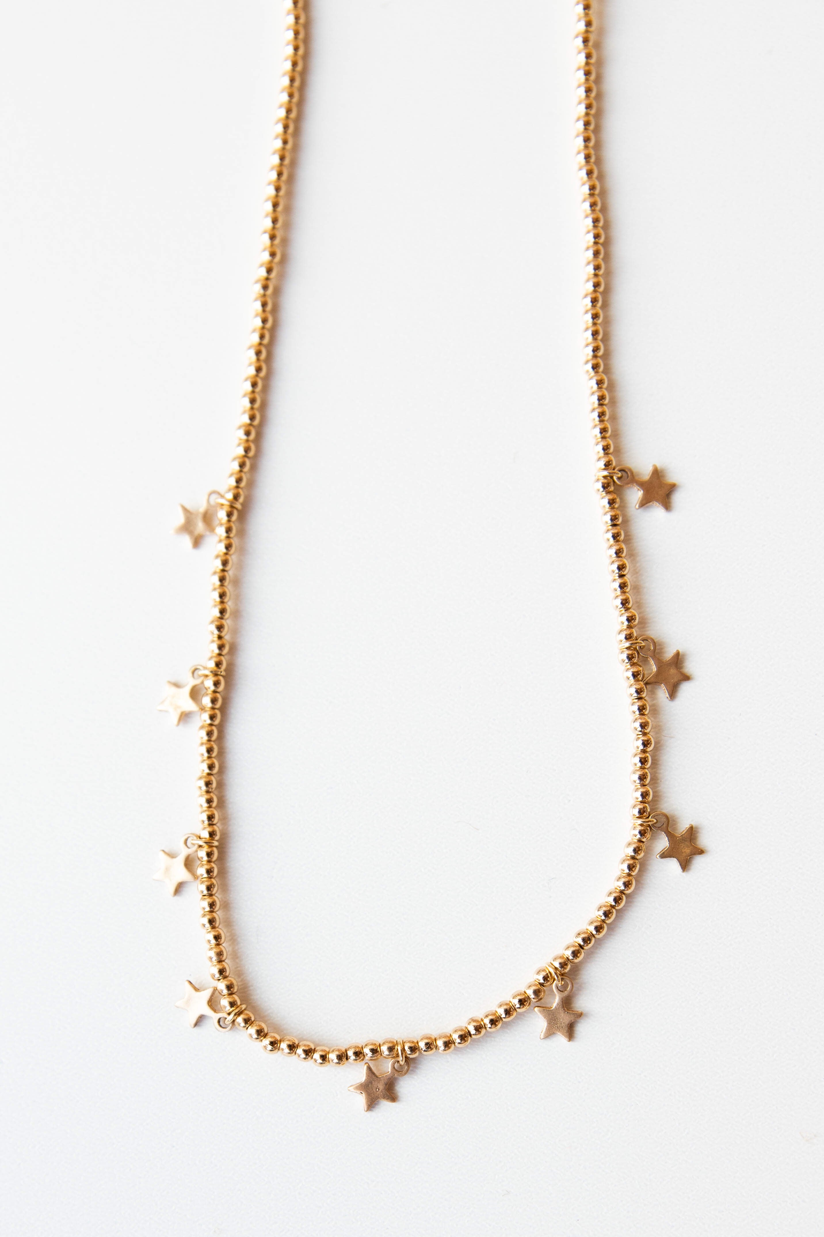 mode, starry eyed necklace